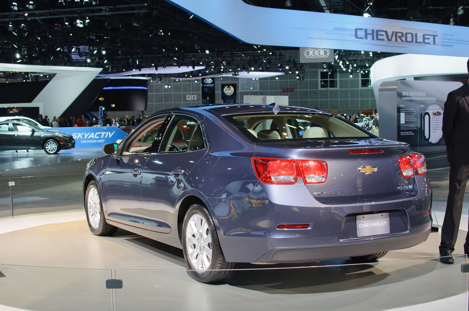 2013 chevrolet malibu ls fleet sedan 2 5l auto. Black Bedroom Furniture Sets. Home Design Ideas
