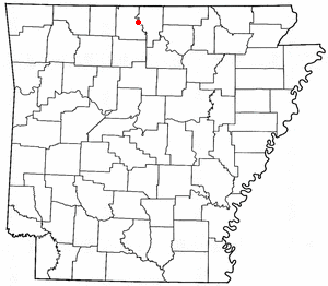 Loko di Cotter, Arkansas