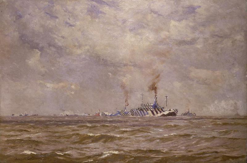 Как спрятать корабль в море - рассказывают художники