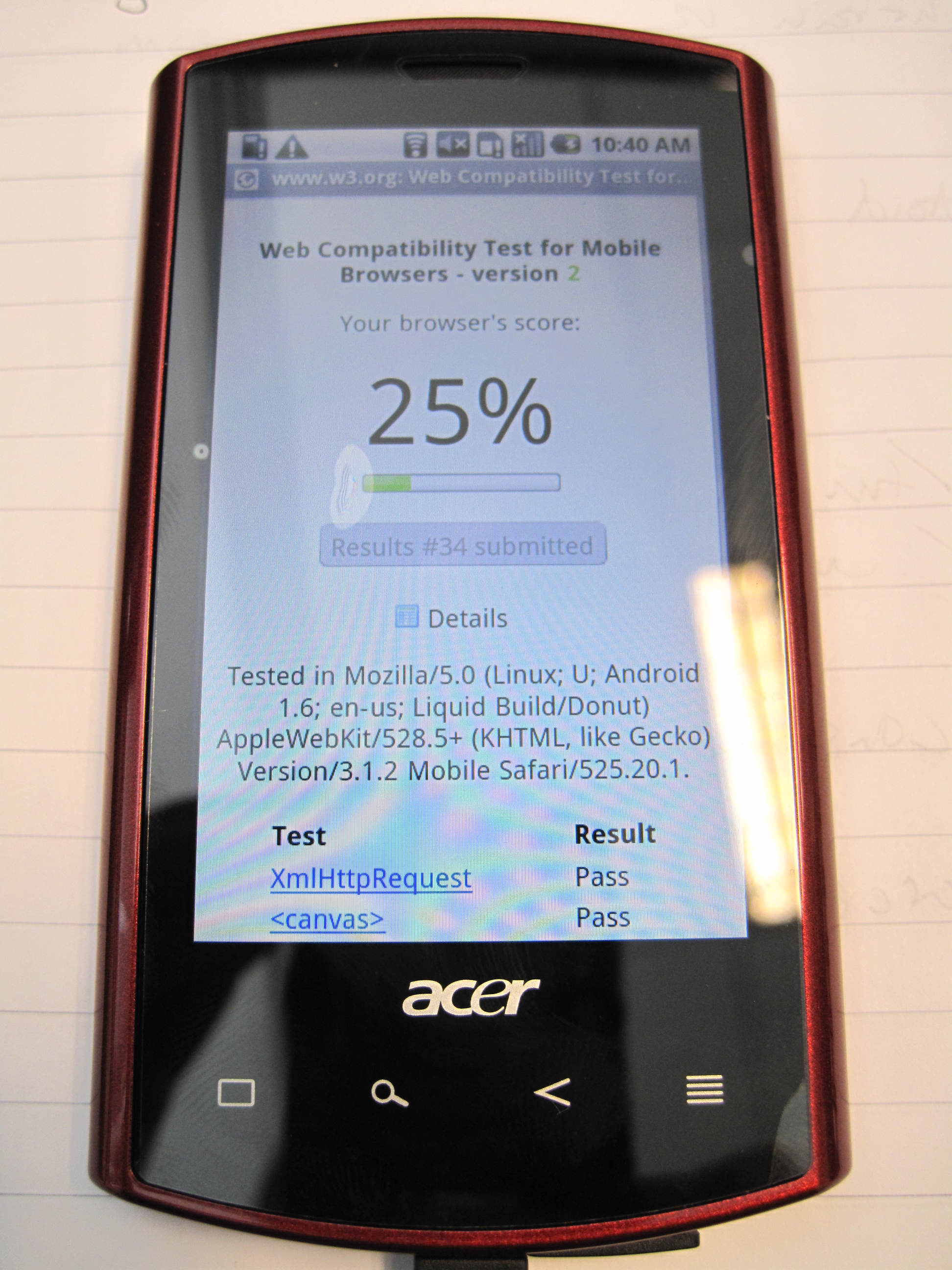 Acer Liquid A1 Wikipedia