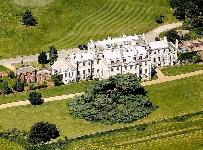 FileAddington Palace Surrey Wedding Venue Aerial Shot