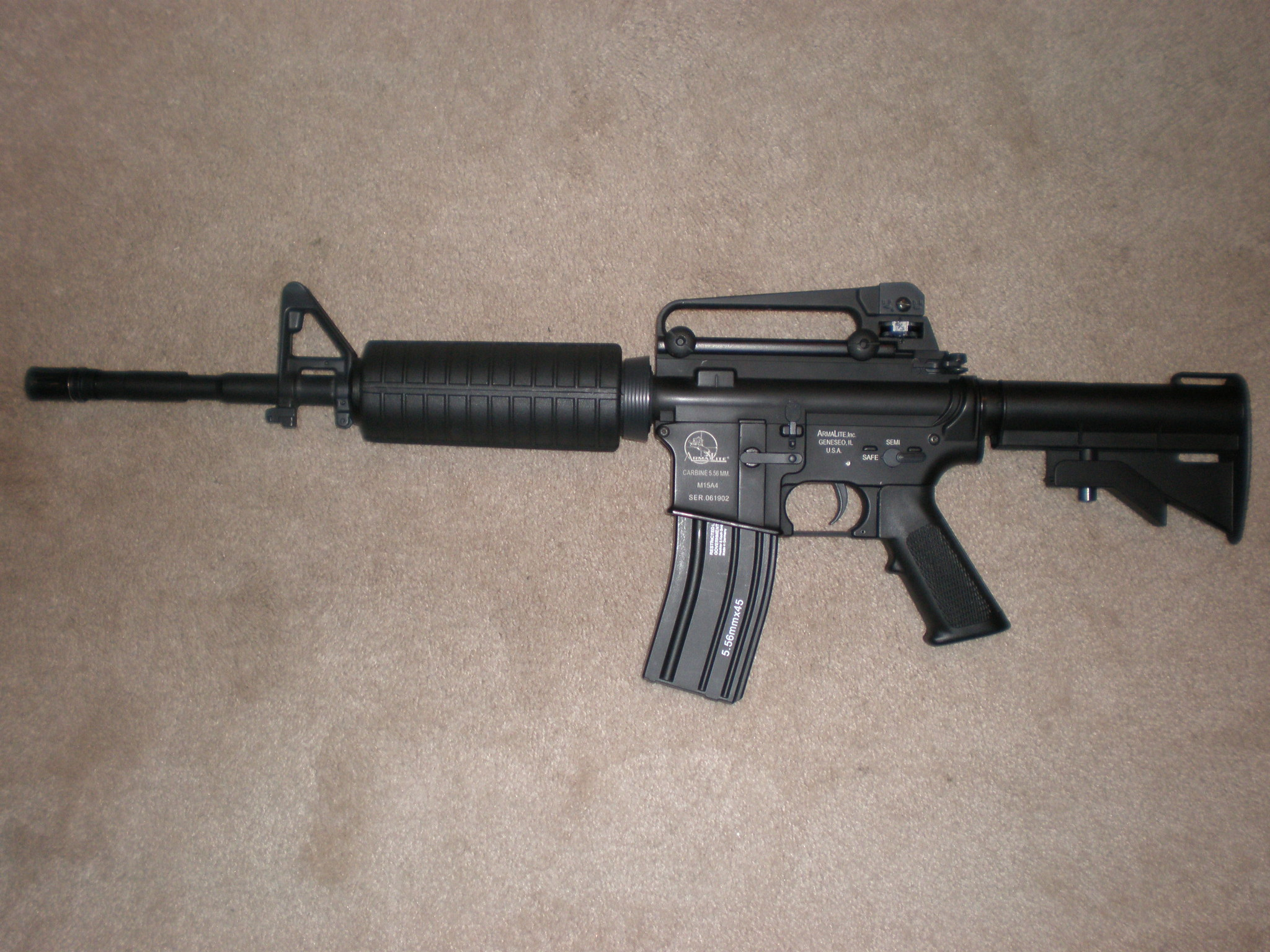 File:Airsoft M15A4 Carbine.JPG - Wikipedia