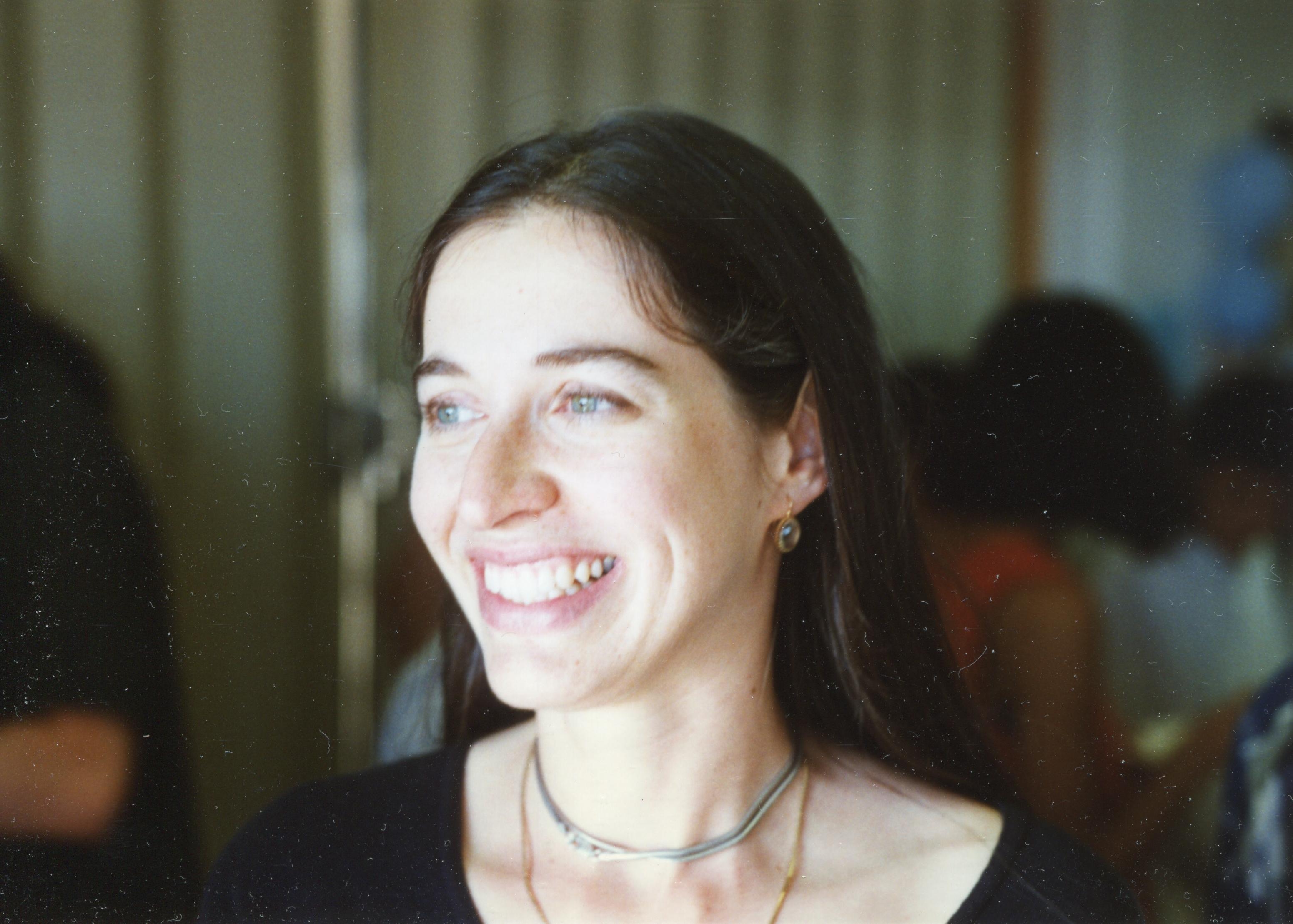 Ana Cannas da Silva in Berkeley, 1996