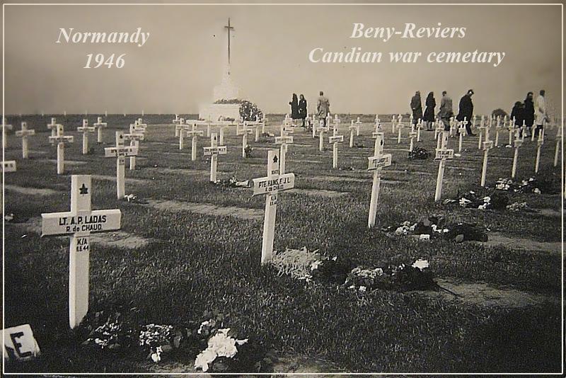 Antonio Ladas and Fernand Hains Tombs