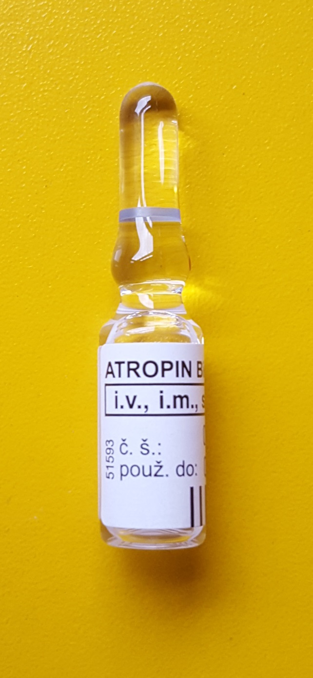 Atropine extended dating