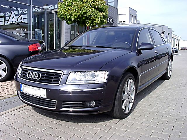 File Audi A8 2002 Front Jpg Wikimedia Commons