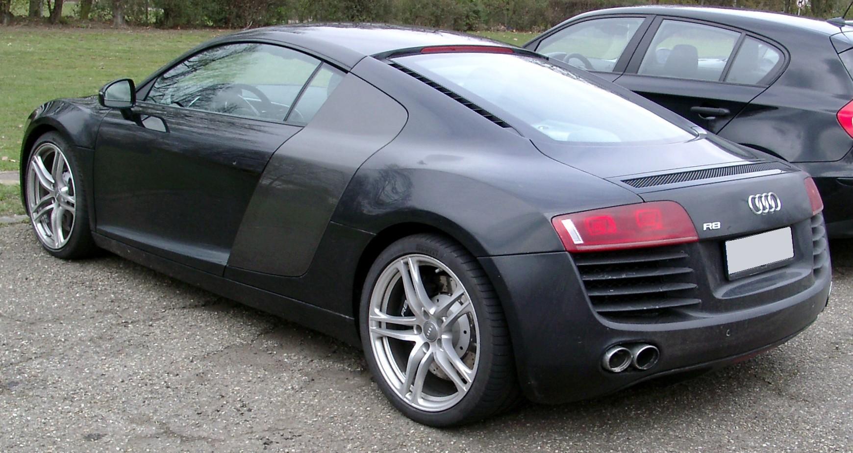 File Audi R8 Rear 20080326 Jpg Wikimedia Commons