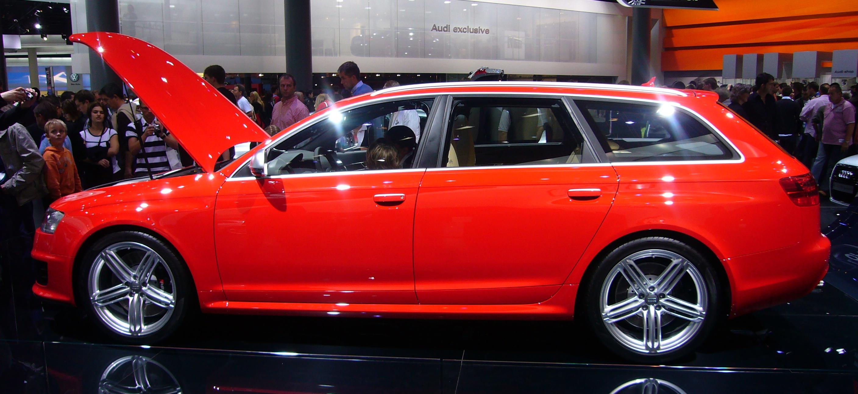 File Audi Rs6 Avant Side Jpg Wikimedia Commons