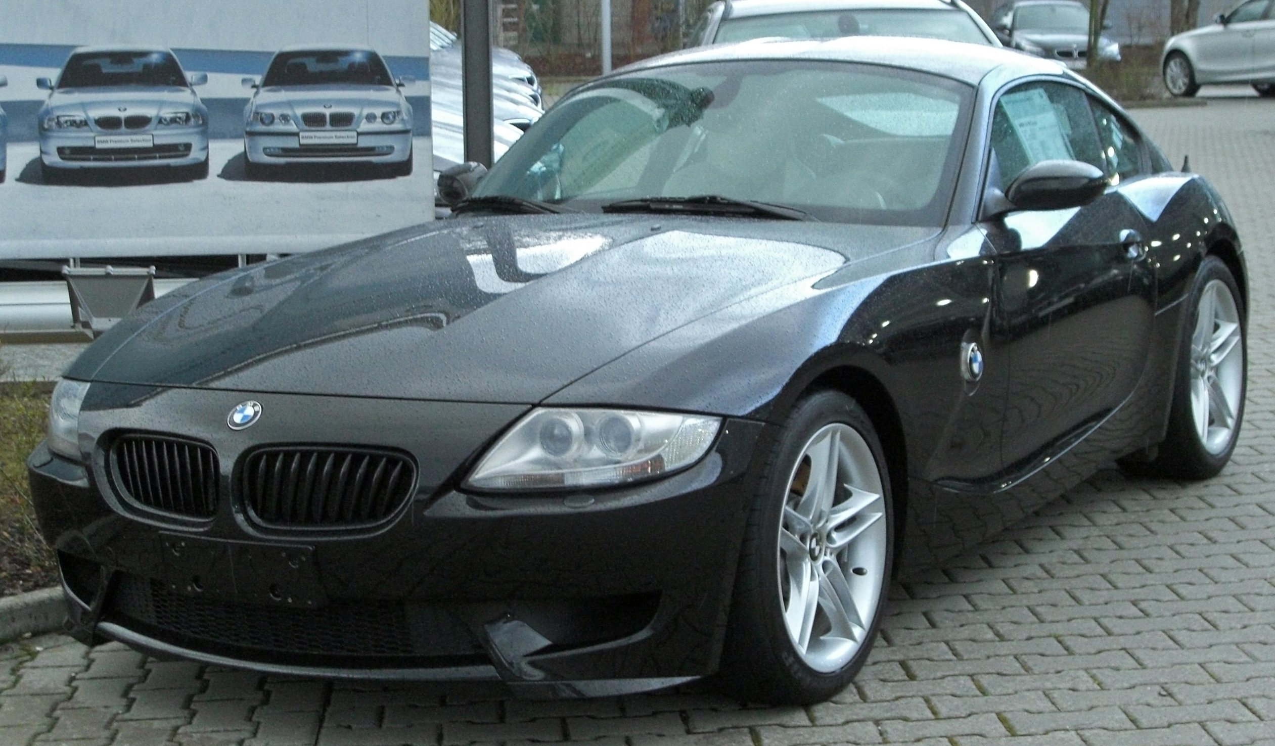 File Bmw Z4 M Coup 233 Front 20100328 Jpg Wikimedia Commons