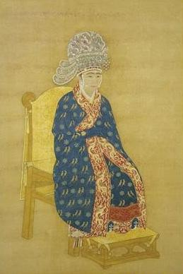 B Song Dynasty D Empress of YingZong.JPG