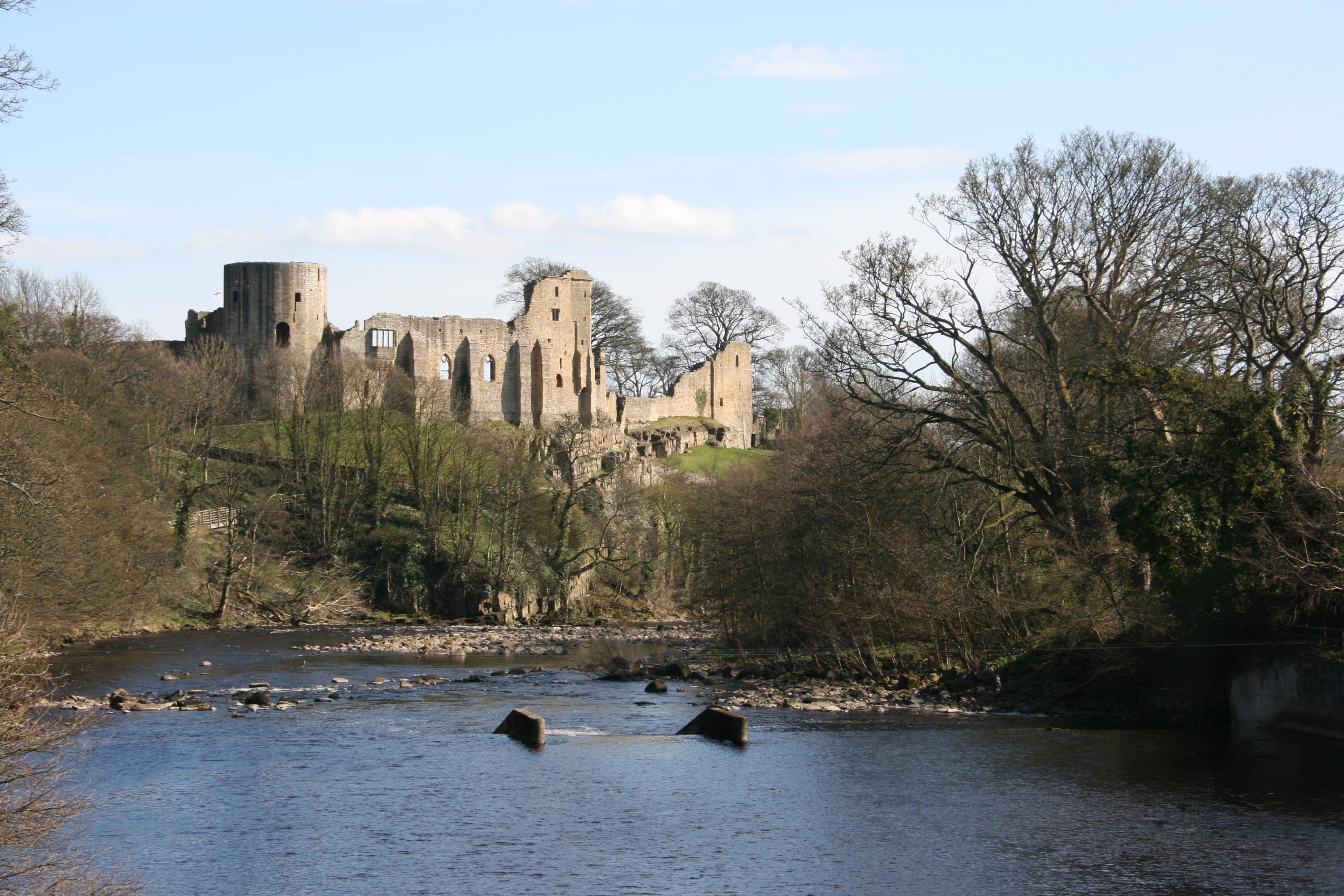 Best Castles In England: Barnard Castle