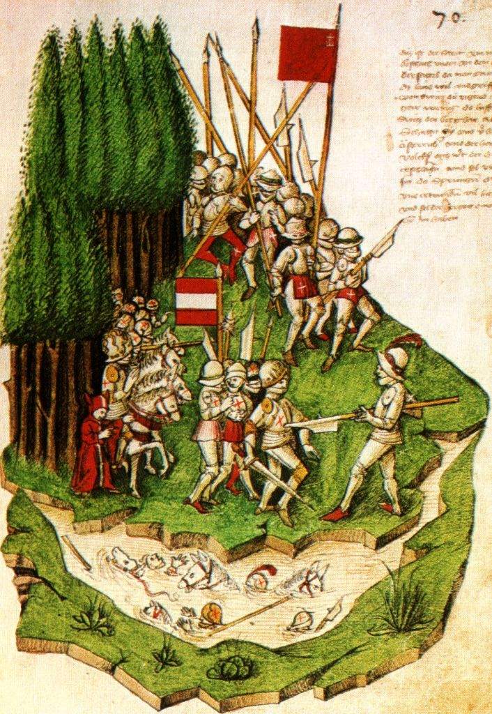 Battle of Morgarten, 1315