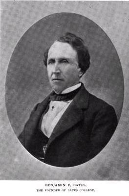 Philanthropist, business magnate, namesake of Bates College, Benjamin Bates.