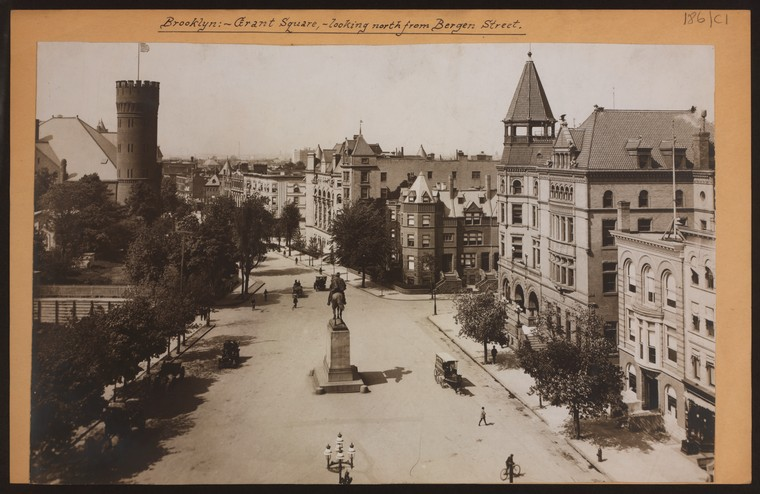 Image result for bergen street brooklyn 1900s