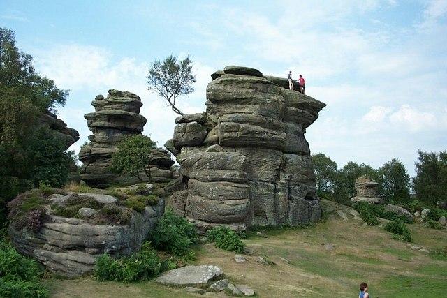 Brimham Rocks, Nidderdale. - geograph.org.uk - 410484