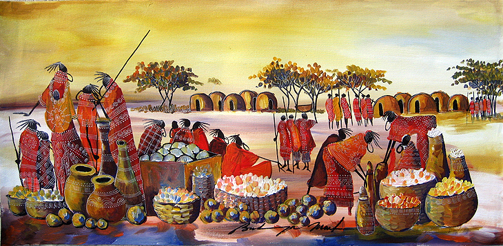 African Art Paintings Wikipedia