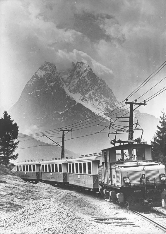 Bavarian Zugspitze Railway - Wikipedia