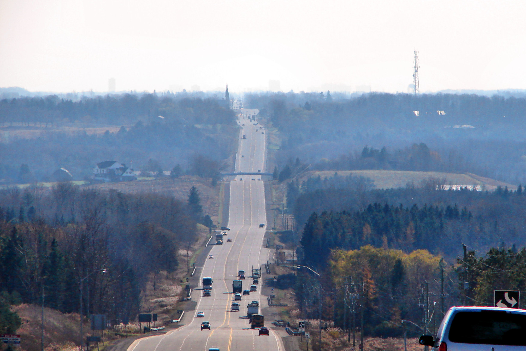 Highway 10 through Caledon