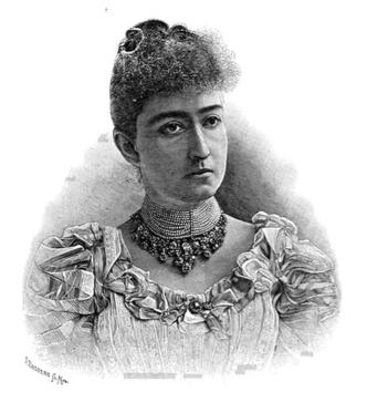 Depiction of Carmen Romero Rubio