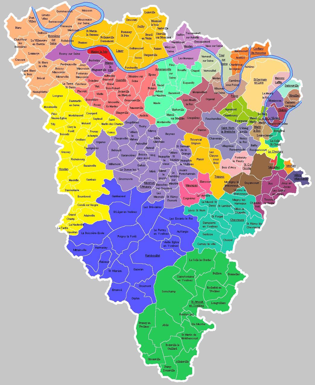 Carte Des Villes Et Villages De La Coreze