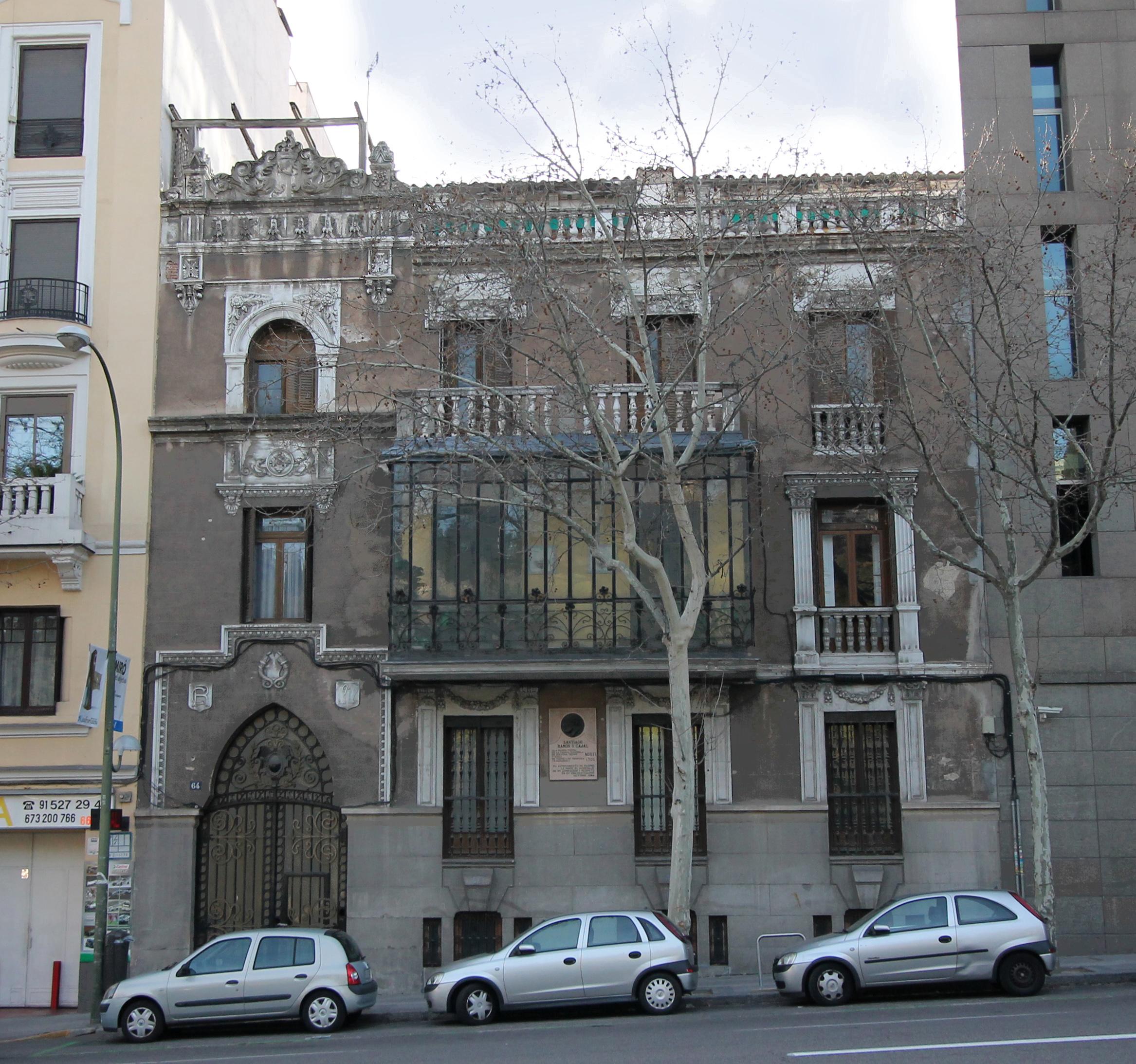 Archivo casa de cajal alfonso xii 64 madrid wikipedia la enciclopedia libre - Calle santiago madrid ...