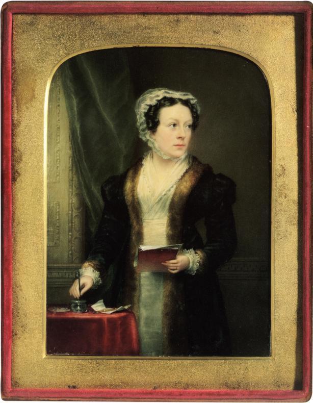 Autoportrait de Christina Robertson, 1822.