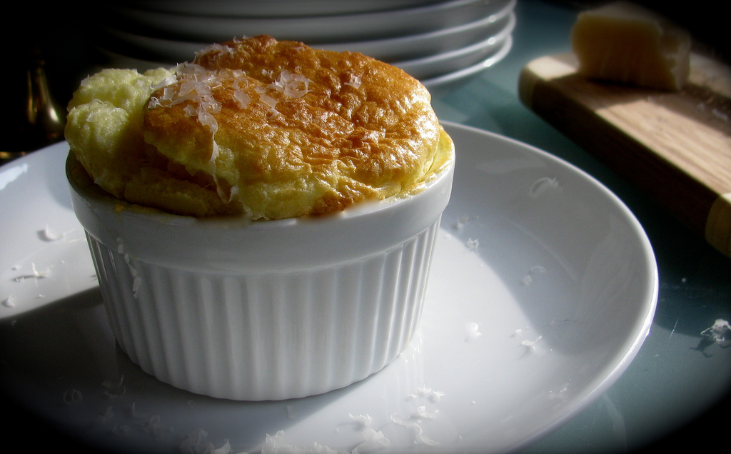 Image result for cheese souffle