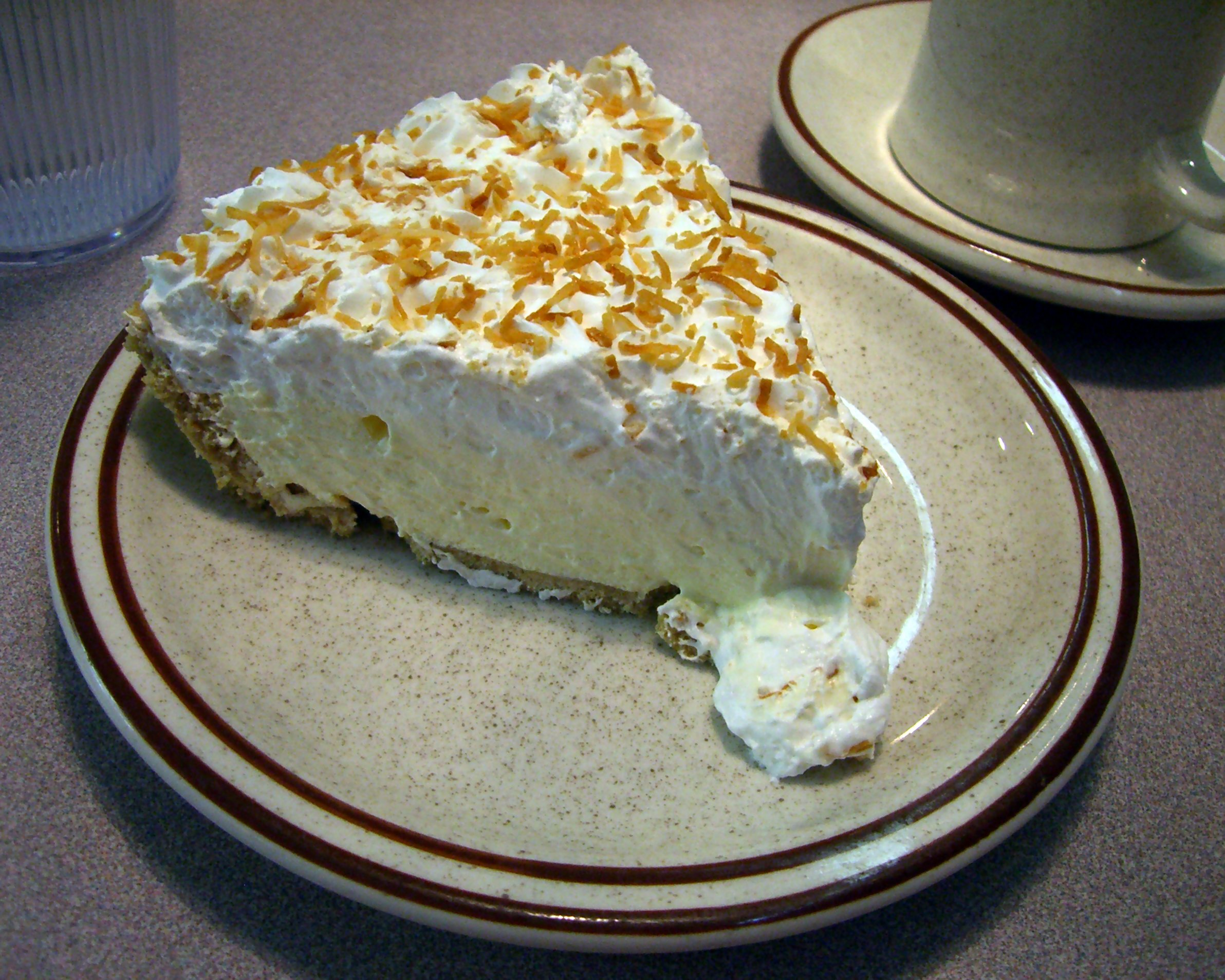 File:Coconut cream pie.jpg - Wikipedia