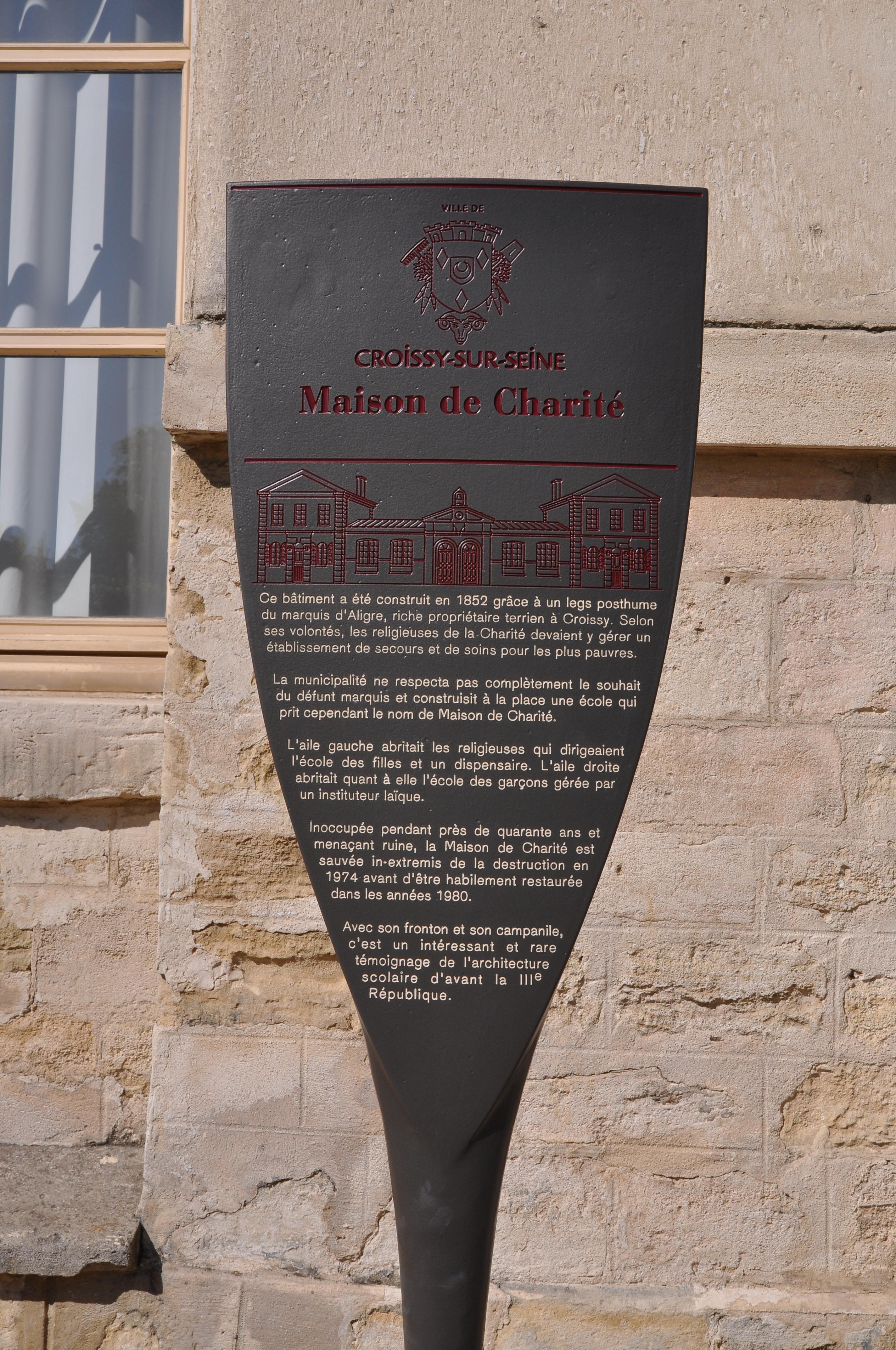 Incroyable File:Croissy Sur Seine Maison De Charité 005.JPG