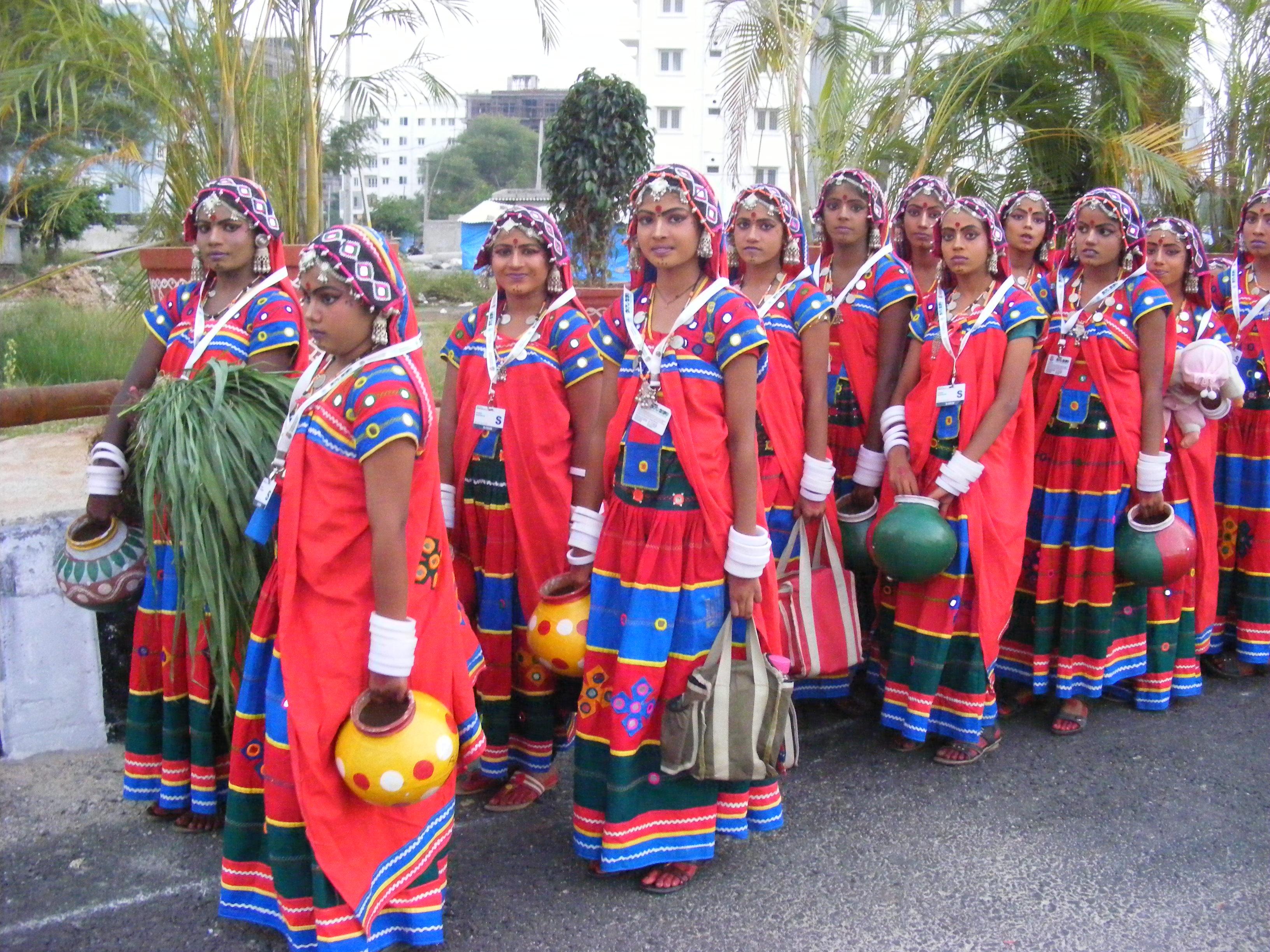 Andhra Pradesh Traditional Dress