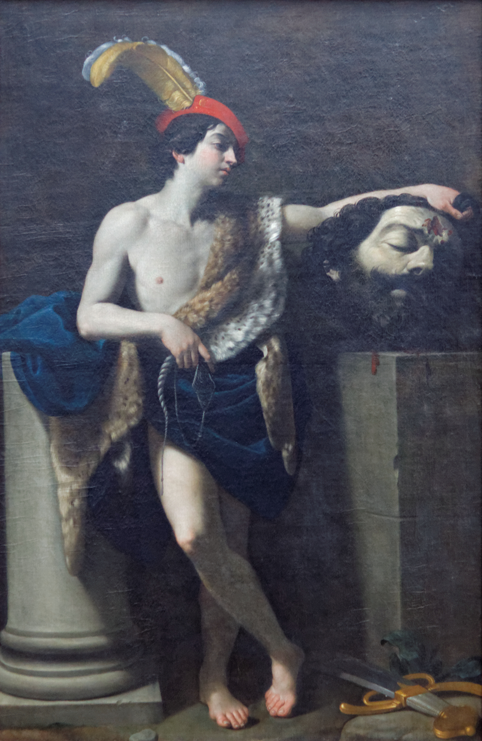 david louvre