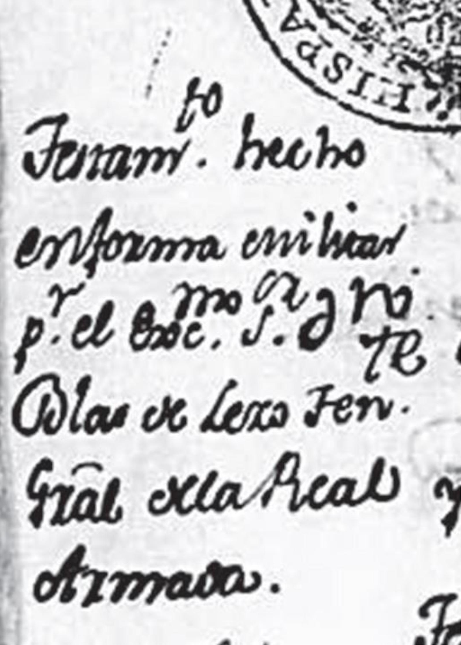 Archivo:Encabezado Testamento Militar de don Blas de Lezo. 1735.jpg ...