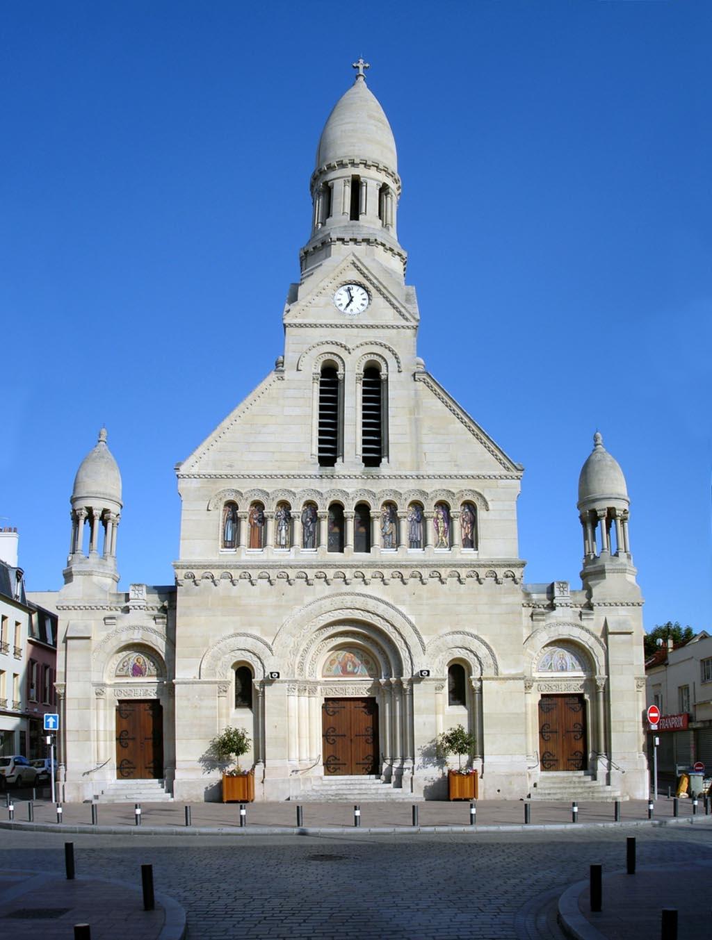 File enghien les bains eglise saint for Enghien les bain