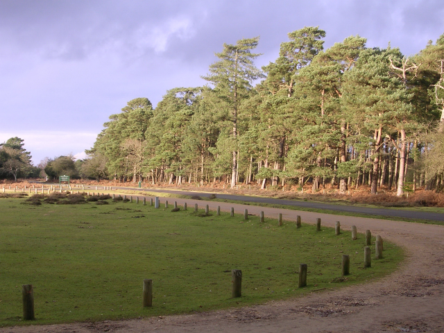 Entrance to Bolderwood car park, New Forest - geograph.org.uk - 94215