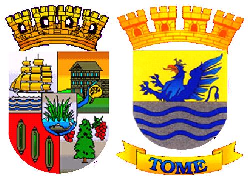 Archivo:Escudos-Tome-Turistico-y-Heraldico.png