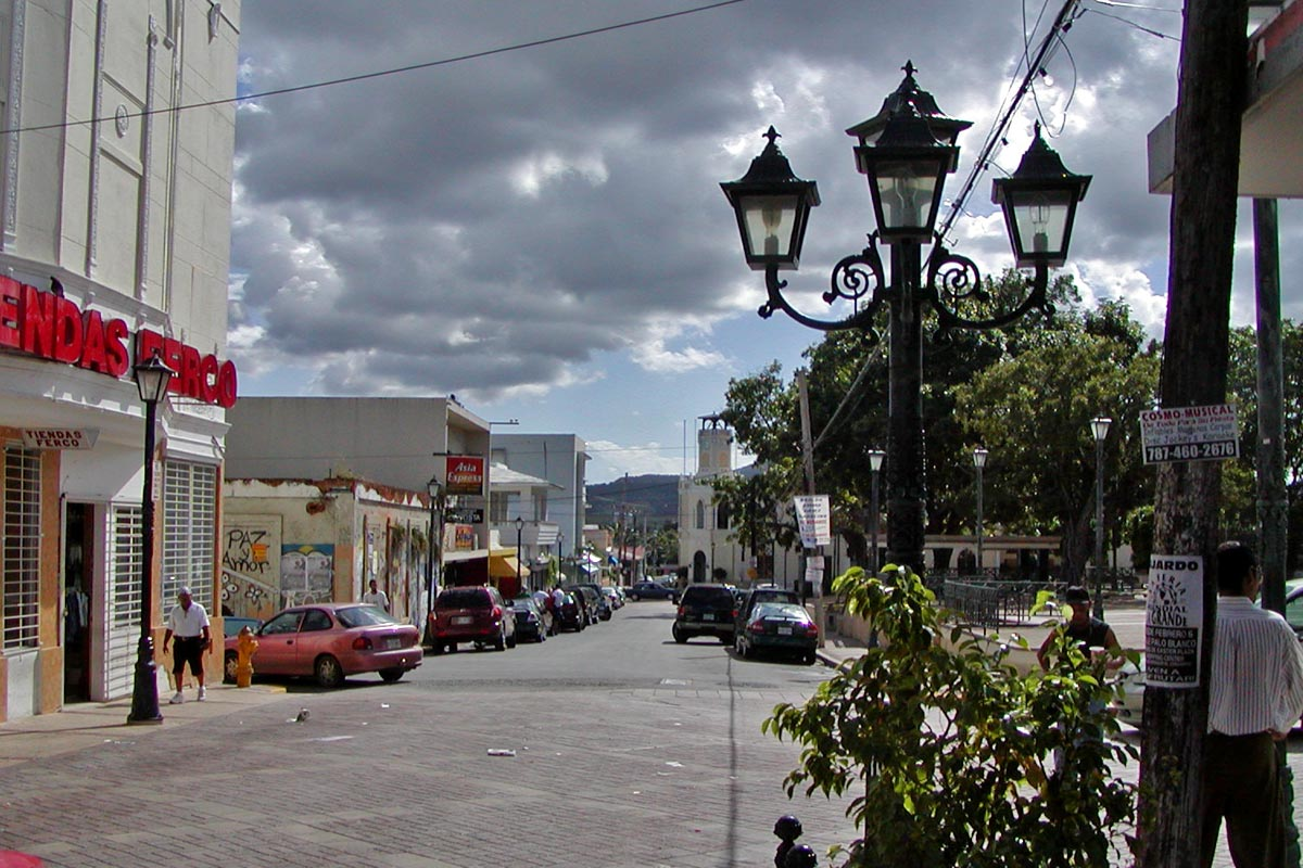 Fajardo Puerto Rico  City new picture : Fajardo street Wikimedia Commons