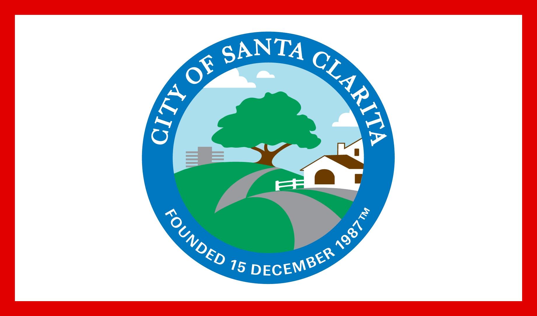 ファイル flag of santa clarita california png wikipedia