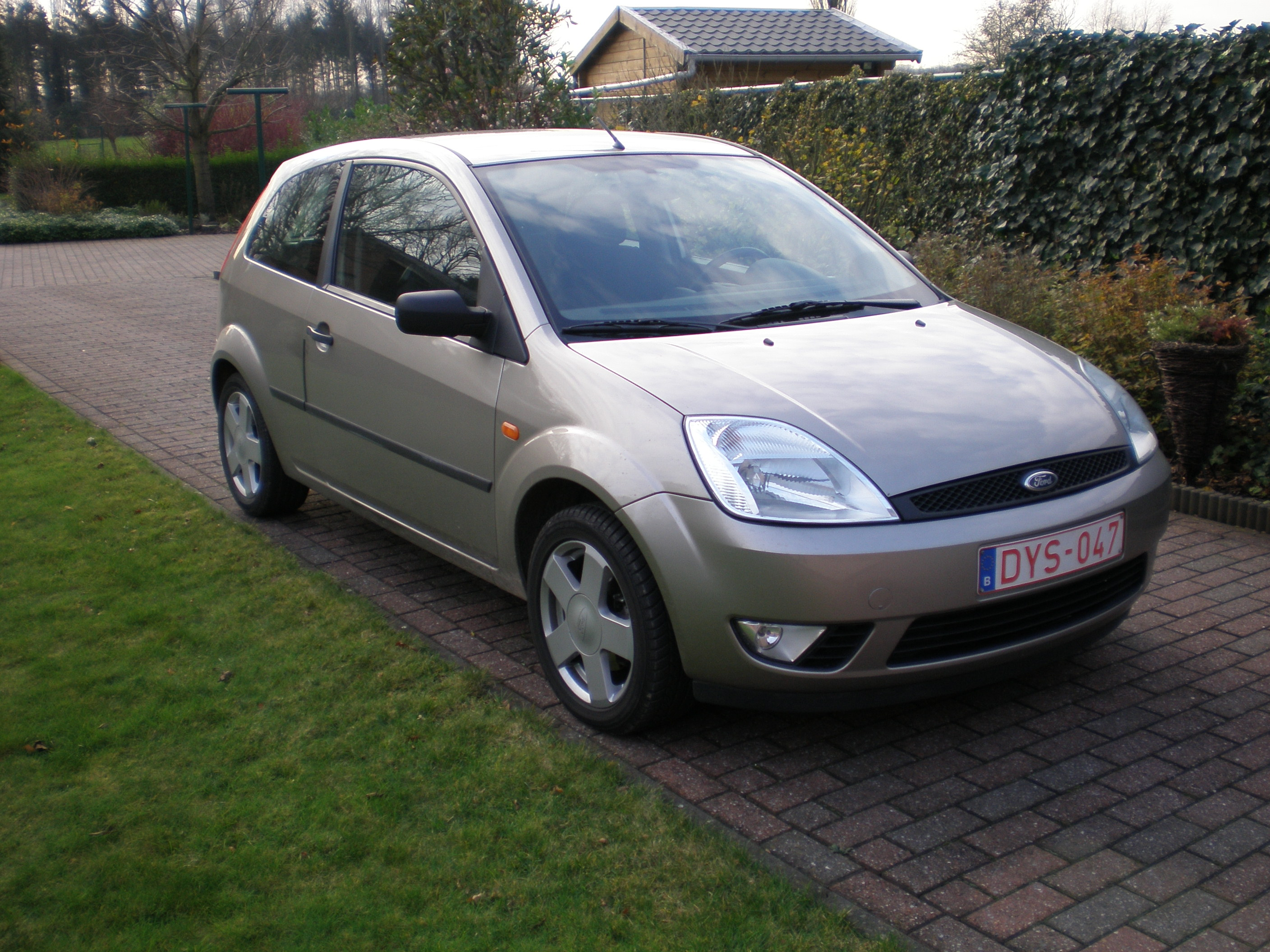Description ford fiesta 2003 rf 14dec2006