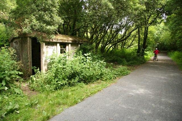 Former railway building - geograph.org.uk - 875049