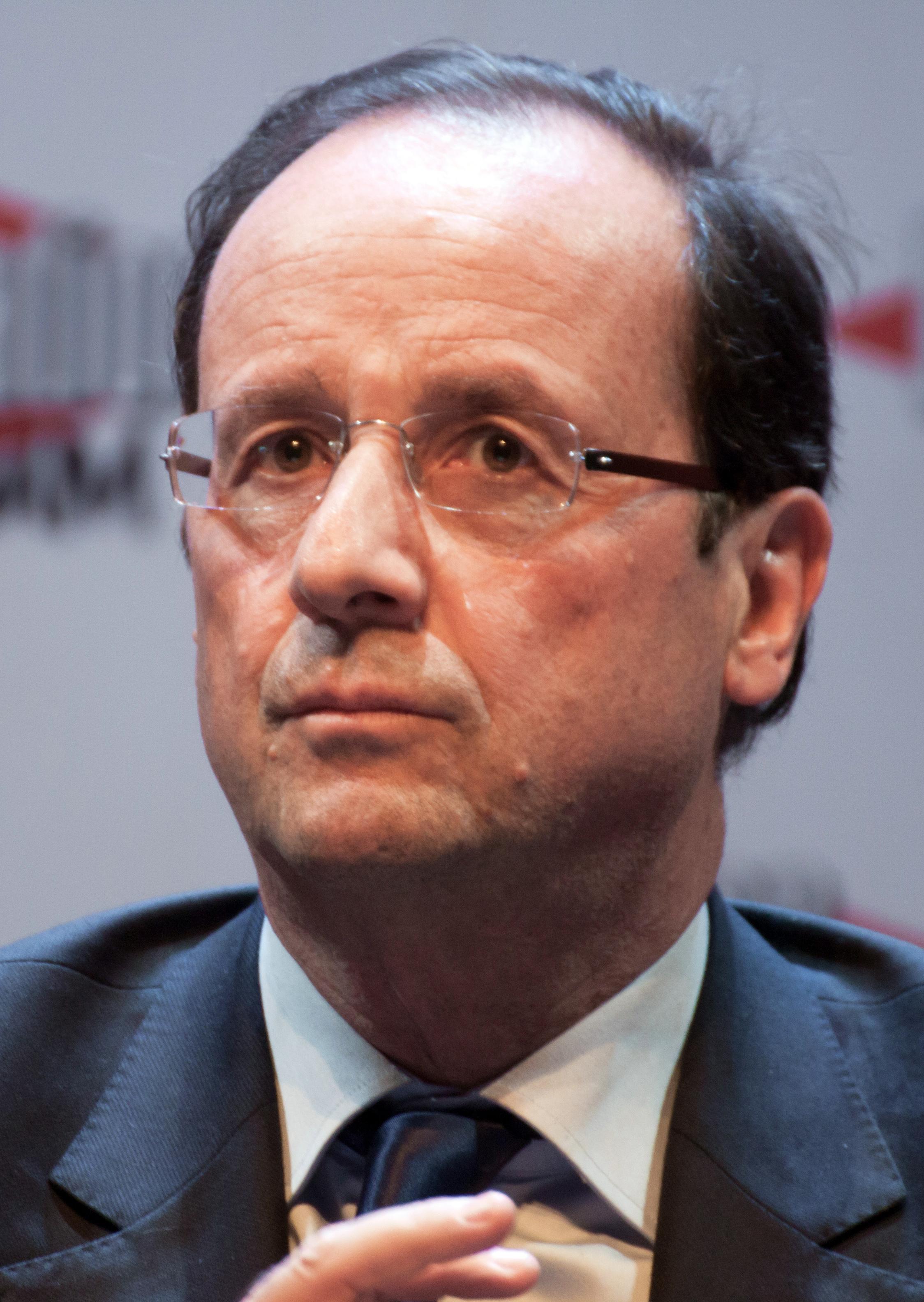 François Hollande - Janvier 2012 (cropped)