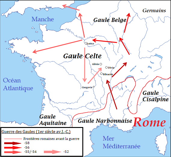 Guerre Des Gaules Wikipedia