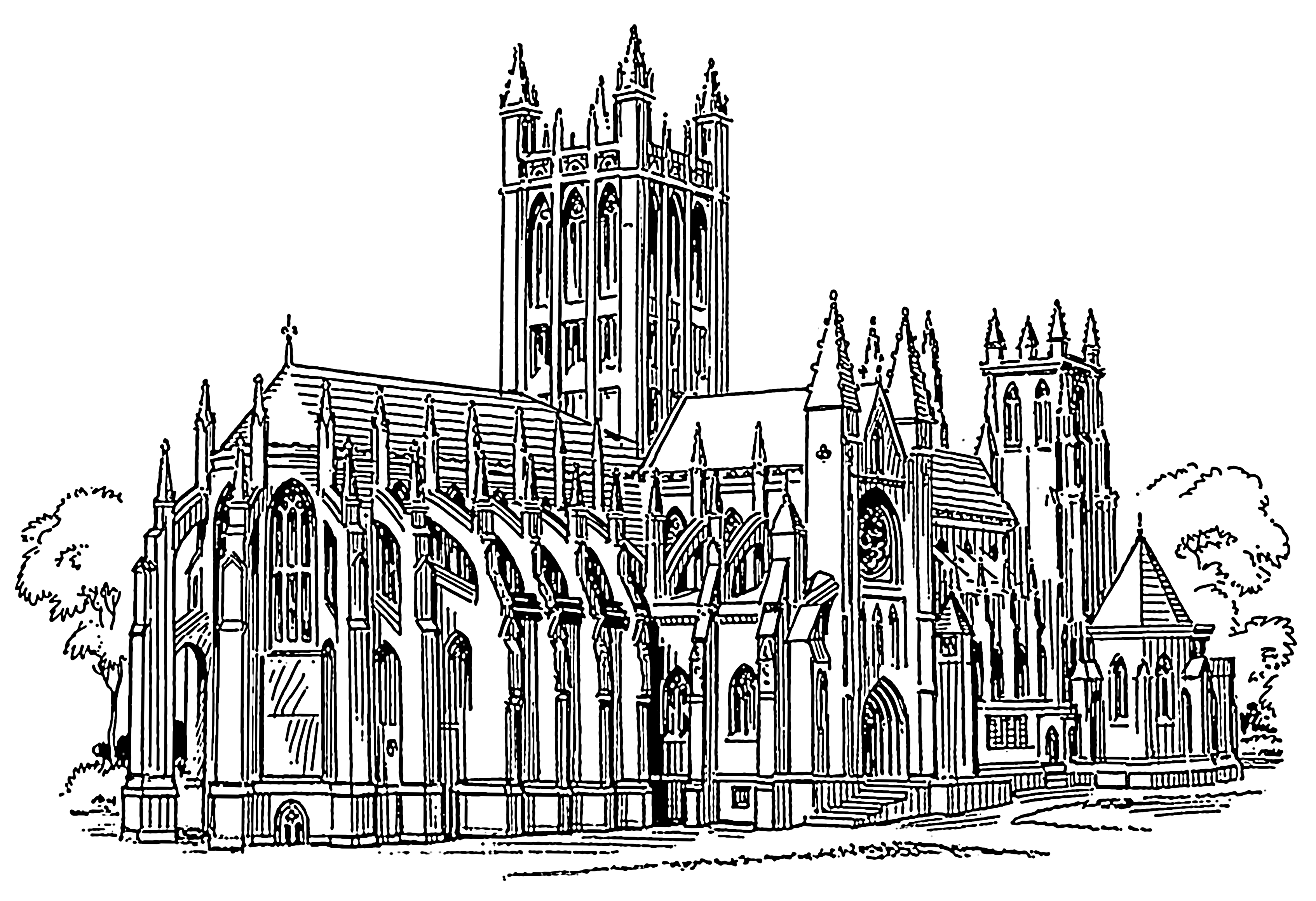 Line Drawing Architecture : File gothic psf wikimedia commons