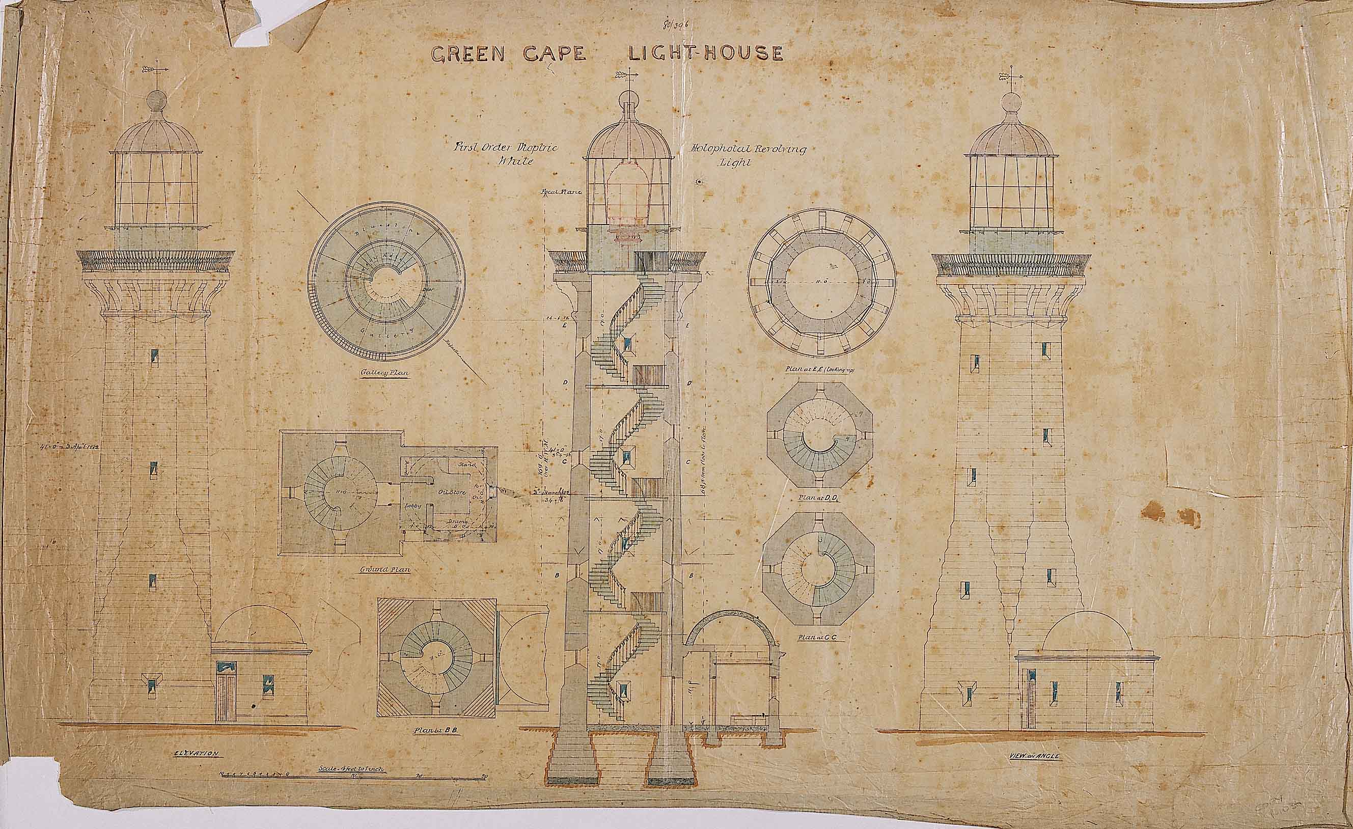 Garden Lighthouse Plans http://sctiven.com/plans-for-a-wood-lighthouse/