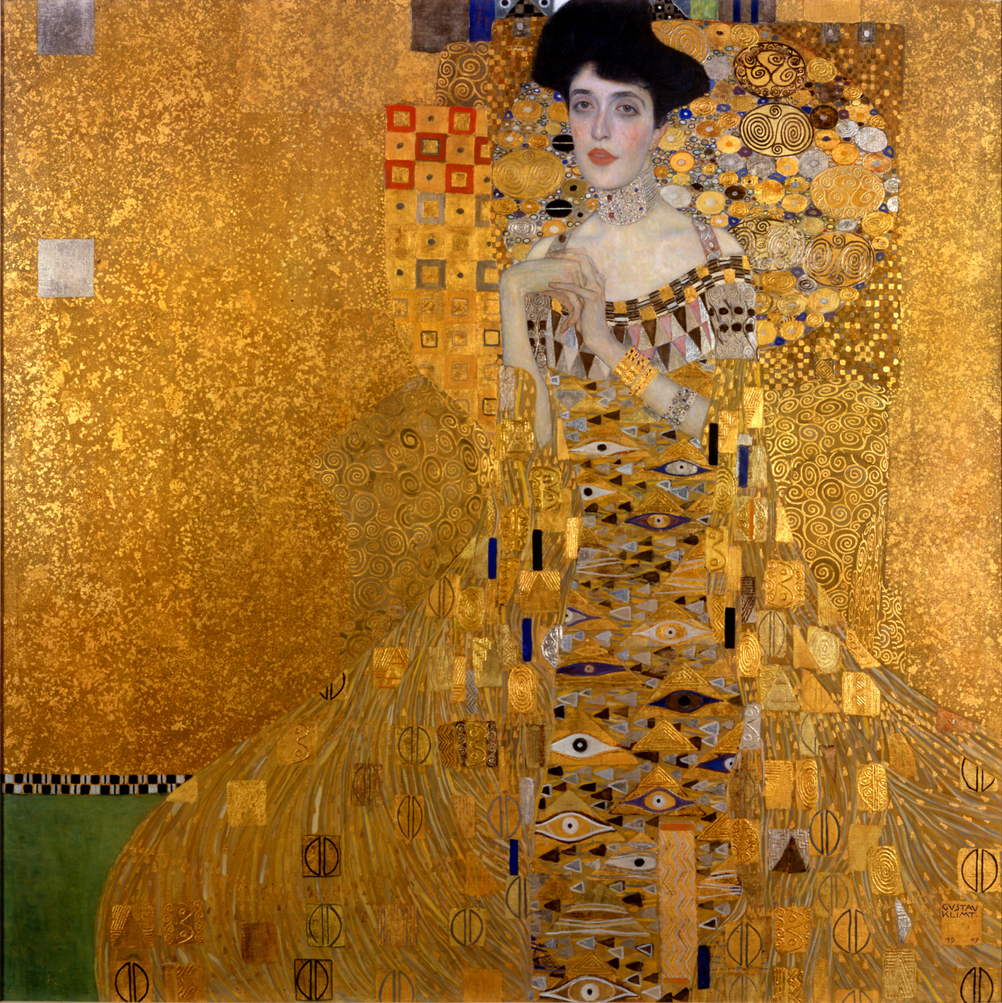 The Extraordinary Tale of Gustav Klimts Masterpiece The Lady in Gold Portrait of Adele Bloch-Bauer