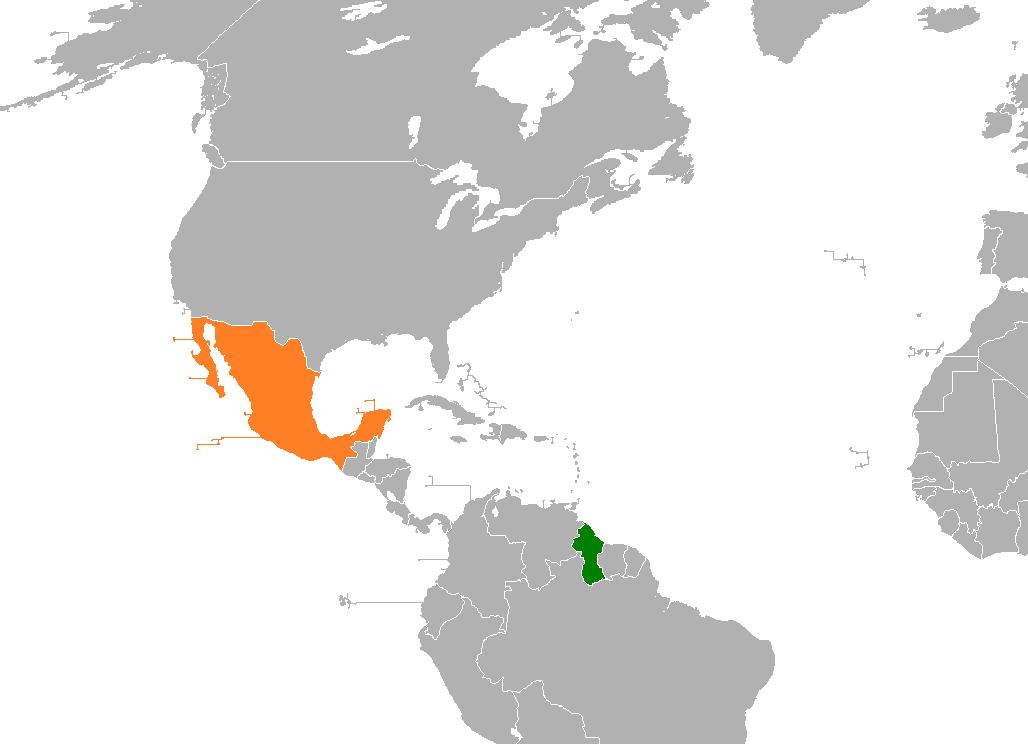 Guyana Mexico Relations Wikipedia