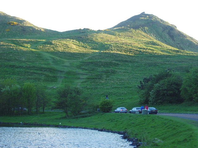 Holyrood Park from Dunsapie Loch - geograph.org.uk - 174443