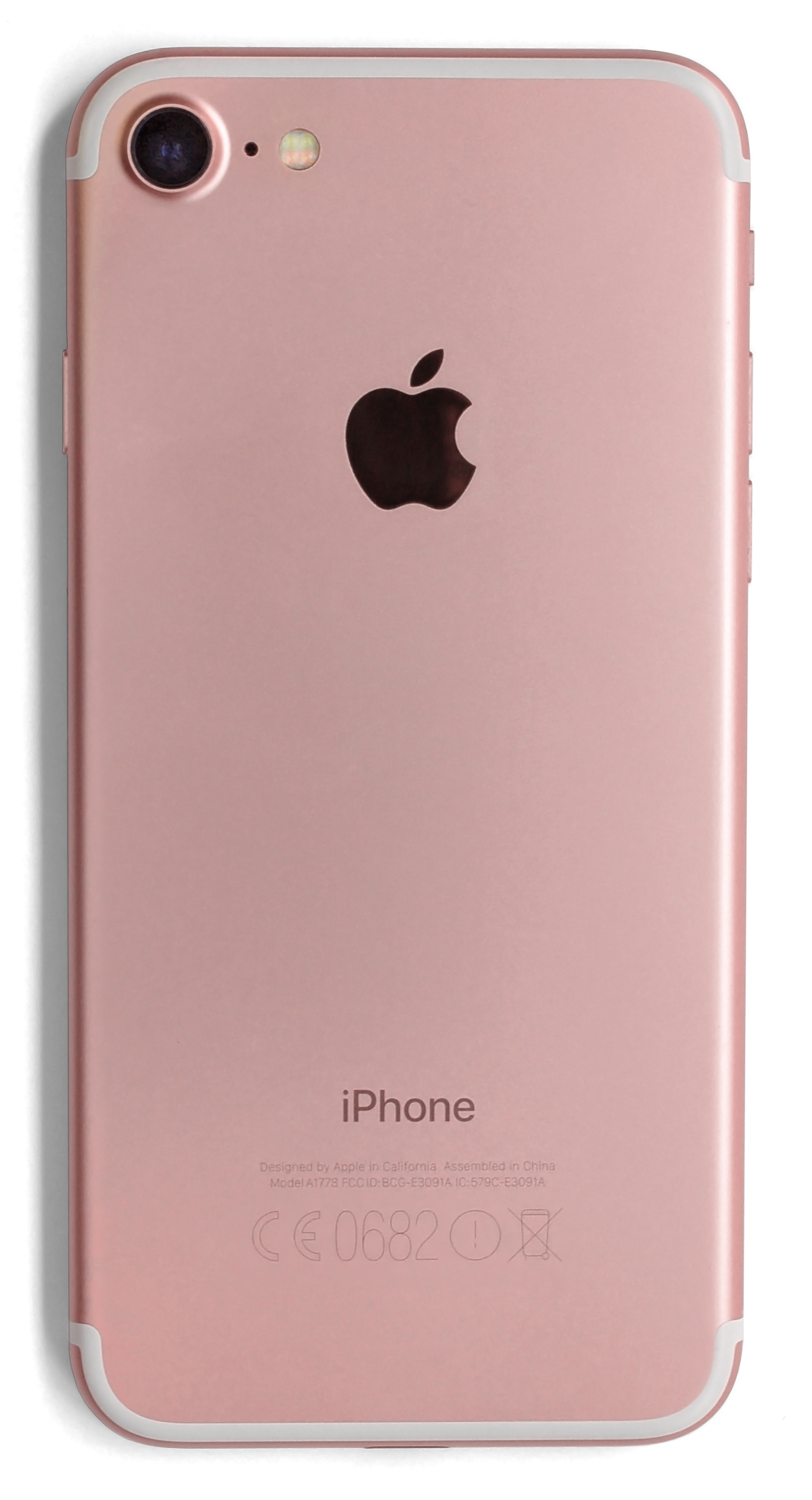 File:IPhone 7 - A1778 Rose Gold - Back (retouch ...