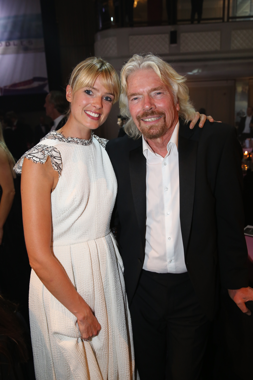 File Isabella And Sir Richard Branson Jpg Wikimedia Commons