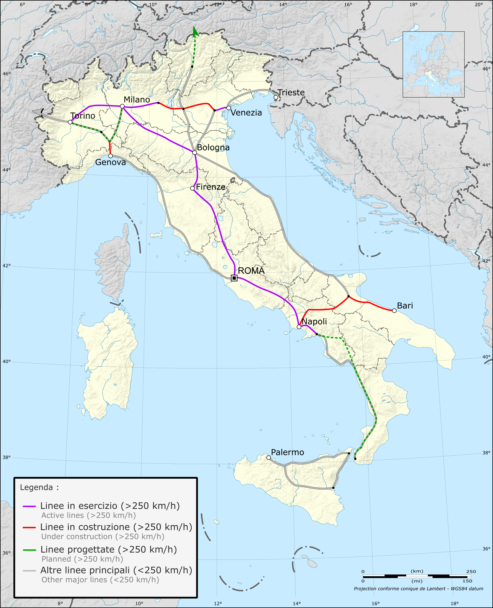 Италия схема