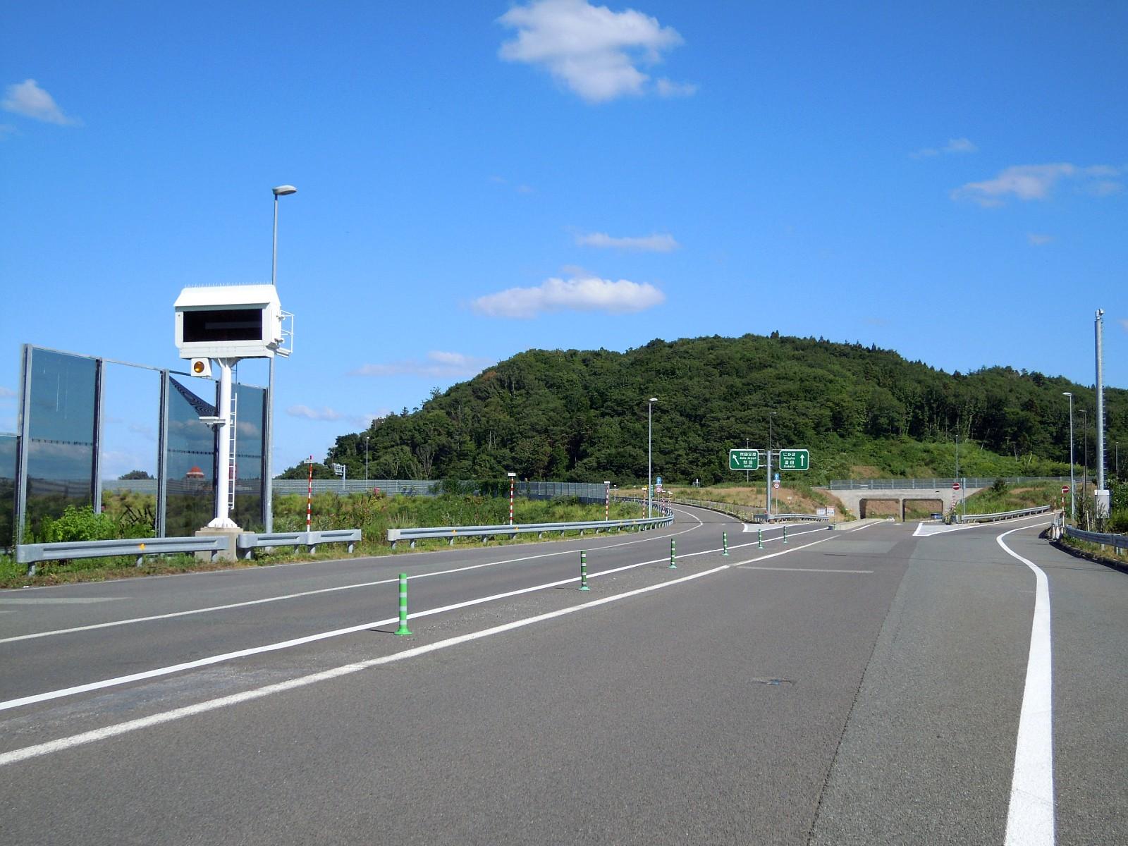 About: 岩城インターチェンジ